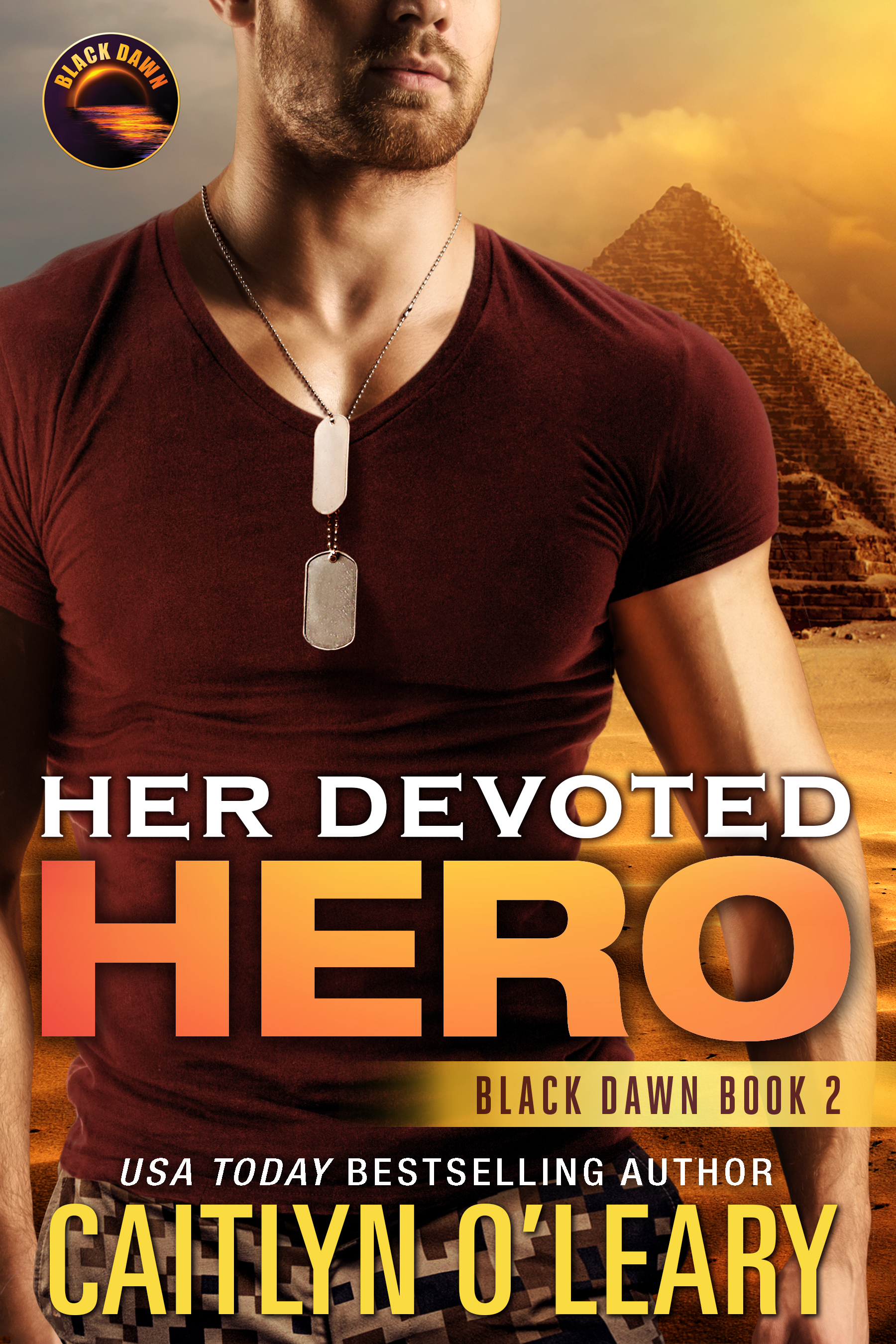 Her Devoted Hero (Signed)